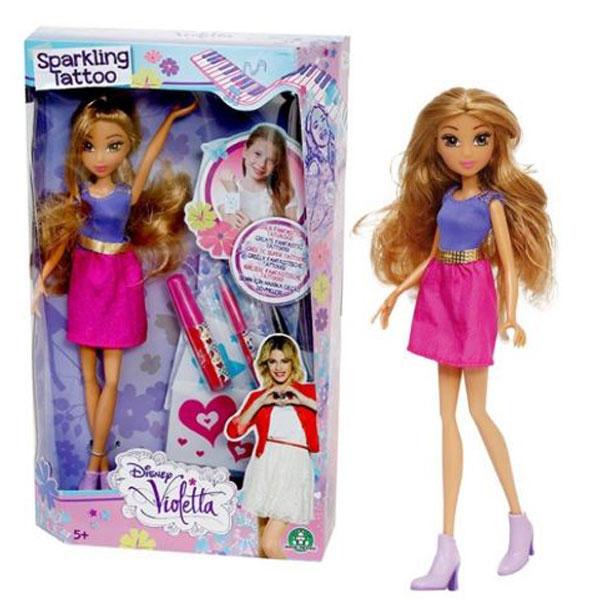 Lutka Violetta Sparkling Tatoo 5018 - ODDO igračke