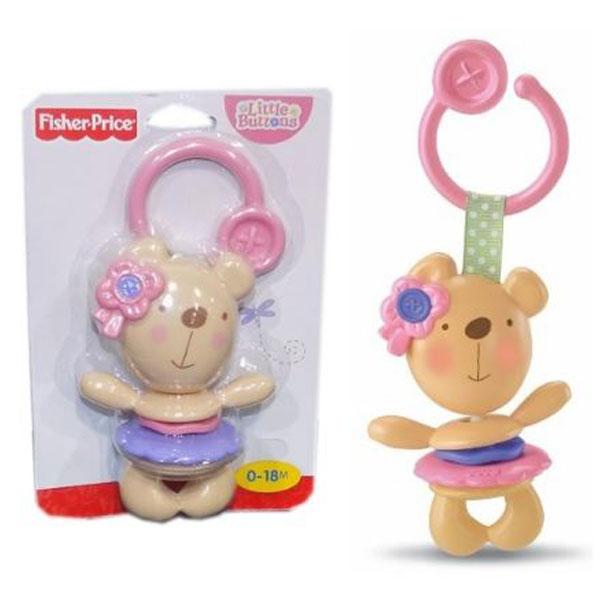 Zvečka Glodalica Fisher Price Sweet Pink R7135 - ODDO igračke
