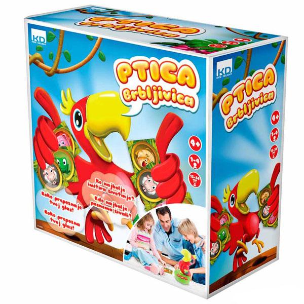 Kidz Delight Ptica Brbljivica KDS1600            - ODDO igračke