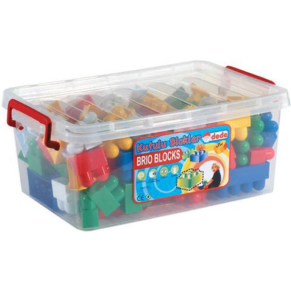 DEDE Kutija sa kockama 58 kom. 013252 - ODDO igračke