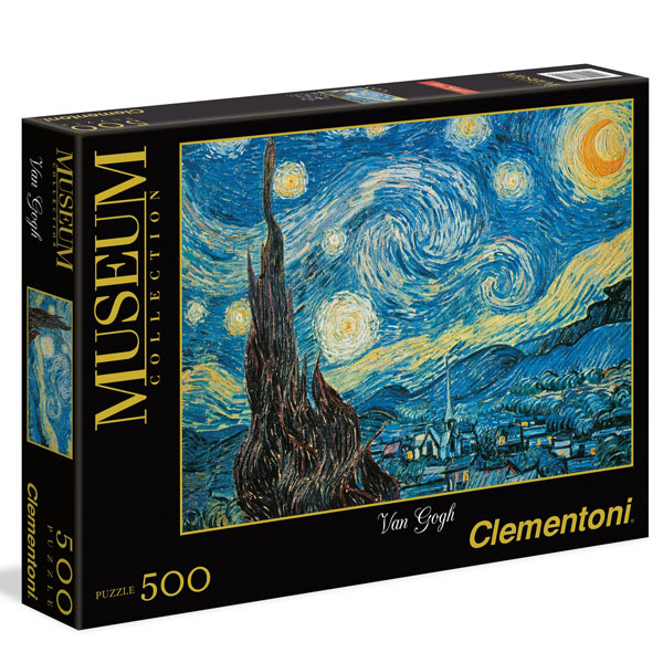 Clementoni Van Gogh The Starry Night  500pcs 30314 - ODDO igračke