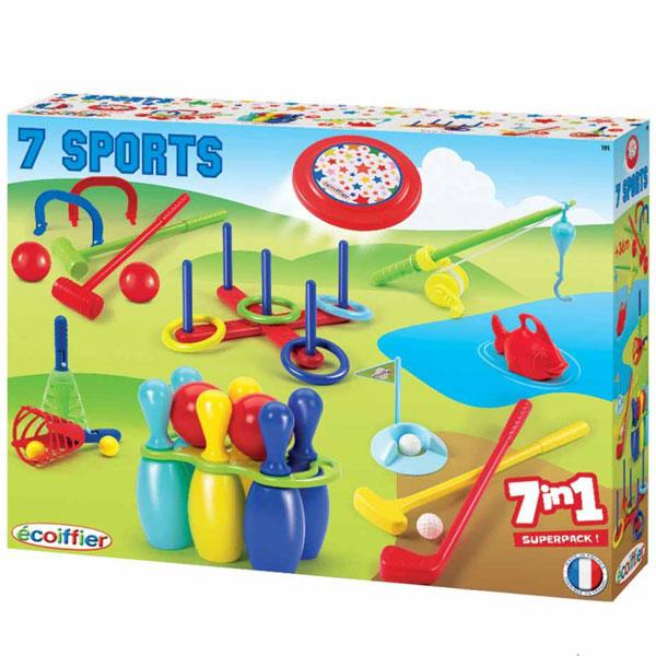 Ecoffier set Sport 7 U 1 SM000191 - ODDO igračke
