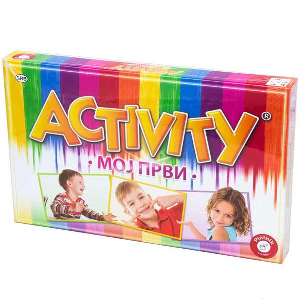 Društvena igra Prvi Activity PJ787041 - ODDO igračke