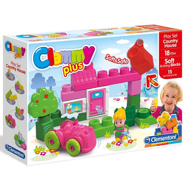 Mekane gumene kocke Clemmy Kuća na selu CL14878 - ODDO igračke