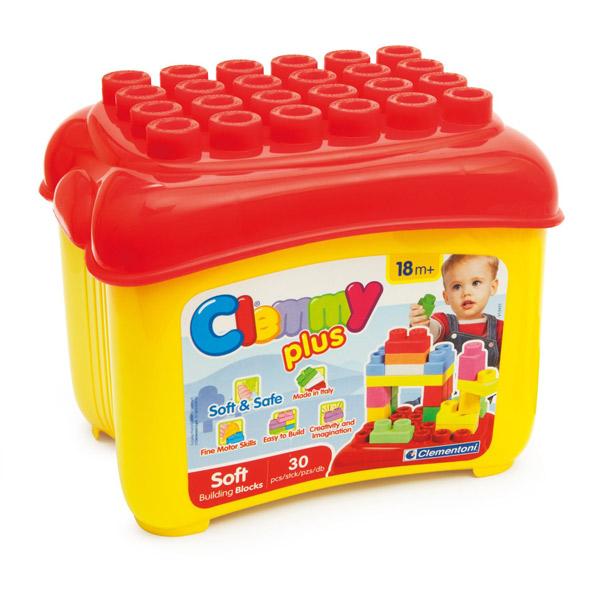 Mekane gumene kocke Clemmy u kutiji CL14882 - ODDO igračke