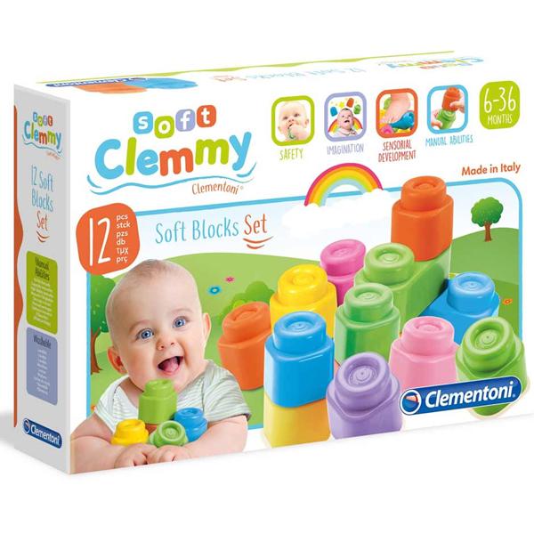 Mekane gumene kocke Clemmy CL14706 - ODDO igračke