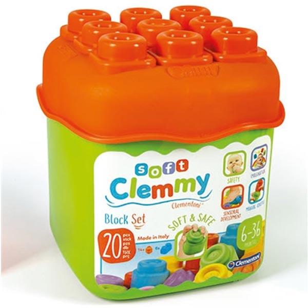 Mekane gumene kocke Clemmy Baby CL14741 - ODDO igračke