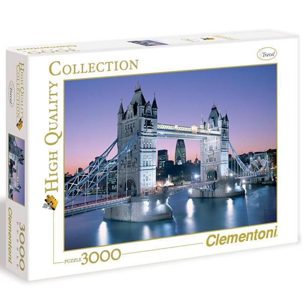Clementoni Puzzla 3000pcs London Tower Bridge 33527 - ODDO igračke