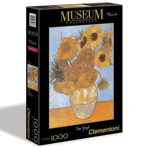 Clementoni Puzzla Sunflowers, Van Gogh 1000 pcs 31438 - ODDO igračke
