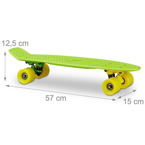Skejt zeleni 57cm 10022271G - ODDO igračke