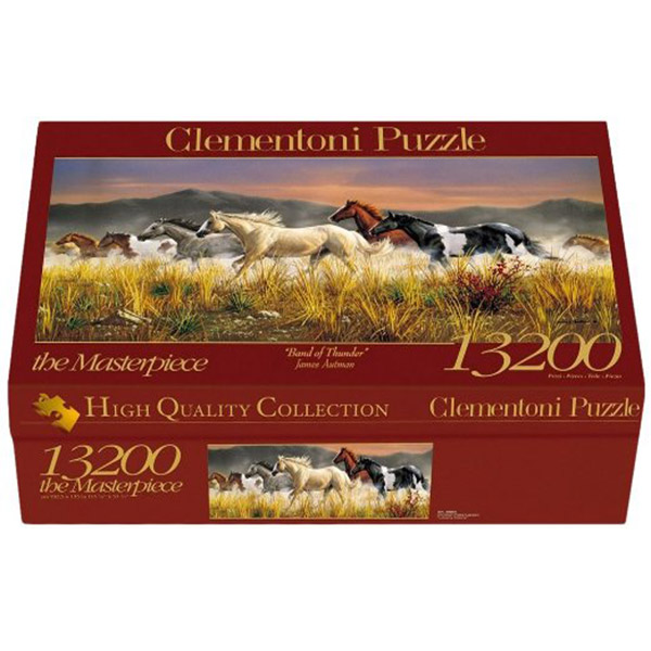 Clementoni Puzzla 13200 pcs Band of Thunder 38006 - ODDO igračke