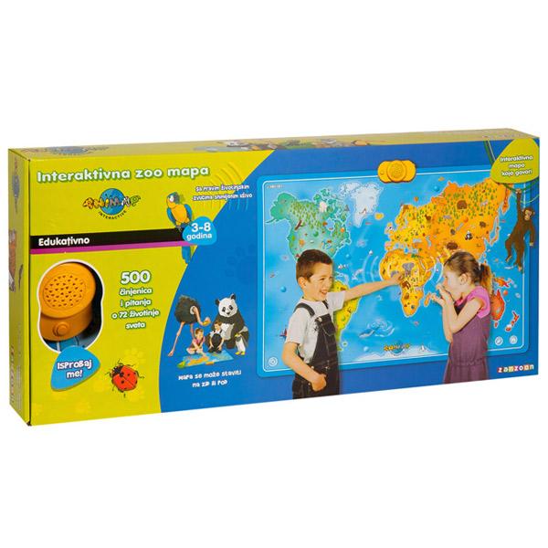Interaktivna Zoo Mapa Z0103 - ODDO igračke