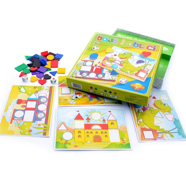 Igra Oblici i Boje Megaplast 3950704 - ODDO igračke