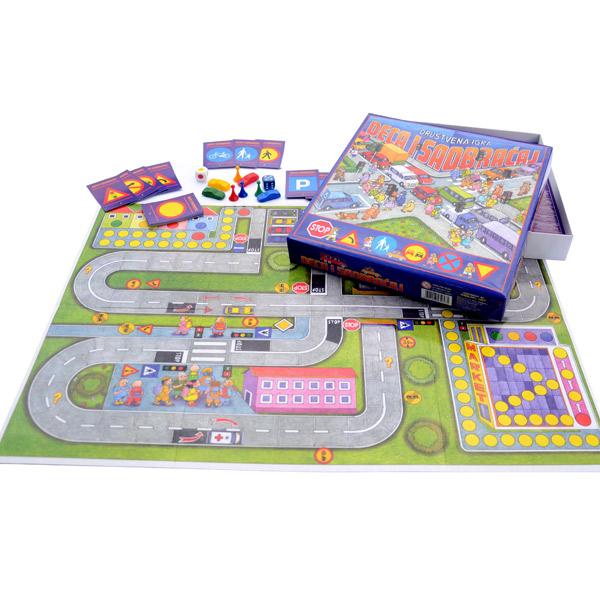 Megaplast Deca i Saobraćaj 3950575 - ODDO igračke