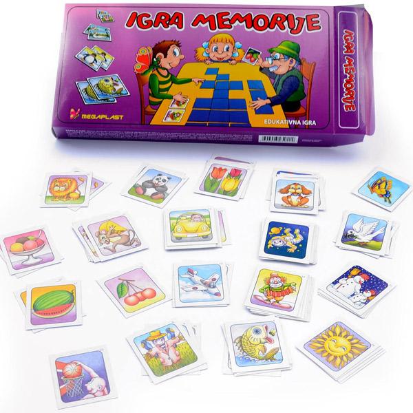 Memo Megaplast 3950414 - ODDO igračke
