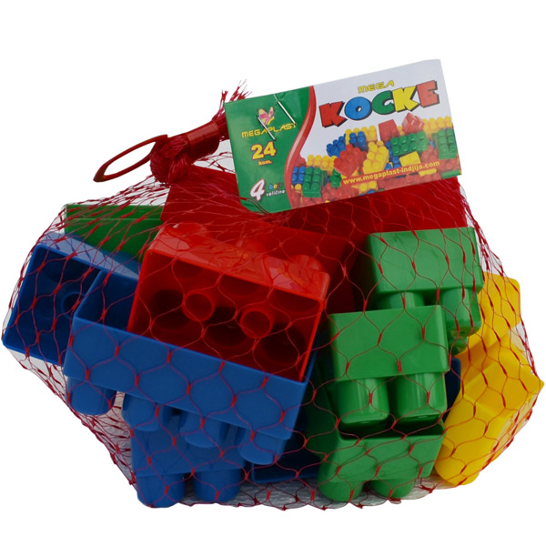 Megaplast Kocke 24 pcs 3950865 - ODDO igračke