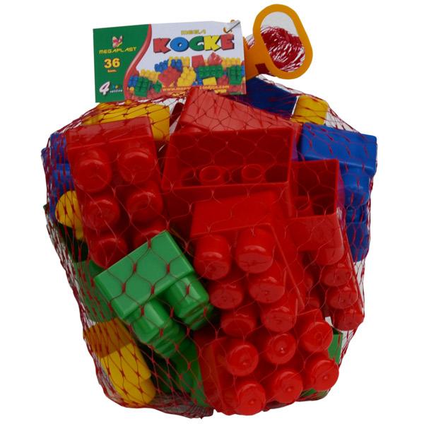 Megaplast Kocke 36 pcs 3950872 - ODDO igračke