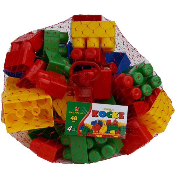 Megaplast Kocke 48 pcs 3950889 - ODDO igračke
