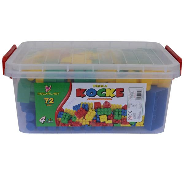 Megaplast Kocke 72 pcs 3950896 - ODDO igračke