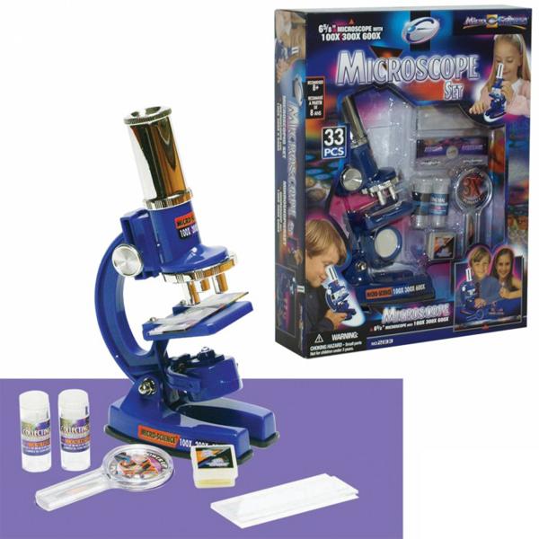 Mikroskop set na baterije 63-400000 - ODDO igračke