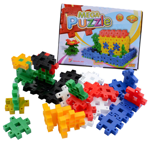 Megaplast Puzzle 36 pcs 3950711 - ODDO igračke