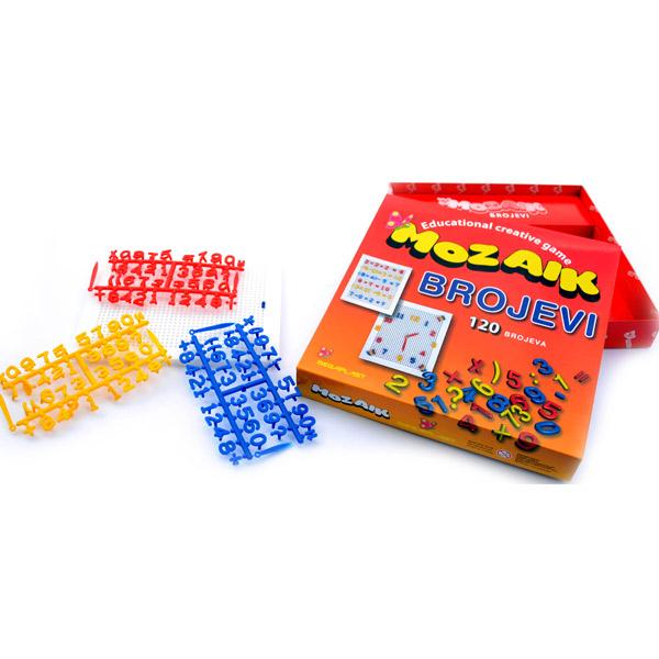 Megaplast Mozaik Brojevi 3950445 - ODDO igračke