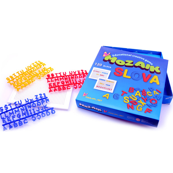 Megaplast Mozaik Slova 3950438 - ODDO igračke