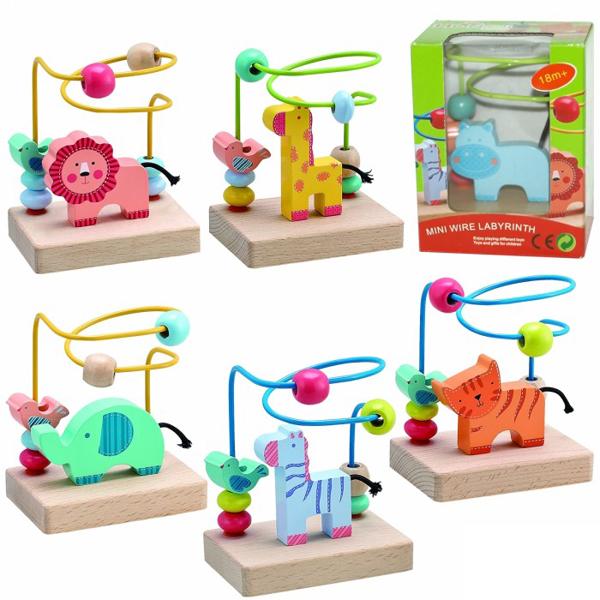Drveni lavirint mali 64-535000 - ODDO igračke