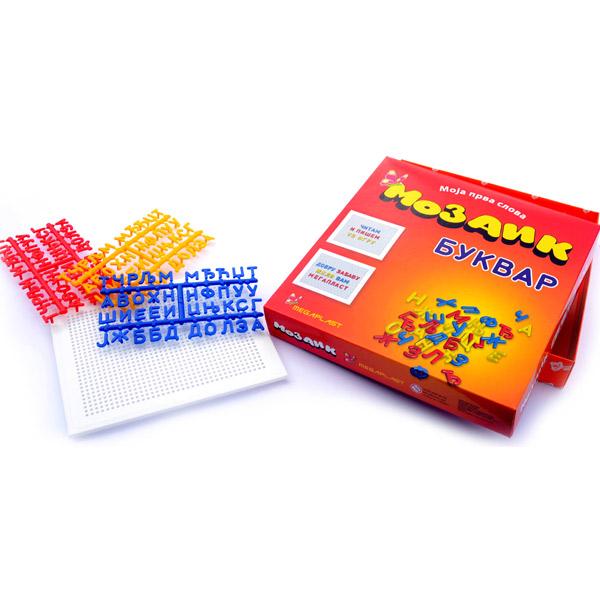 Megaplast Mozaik Bukvar 3950469 - ODDO igračke