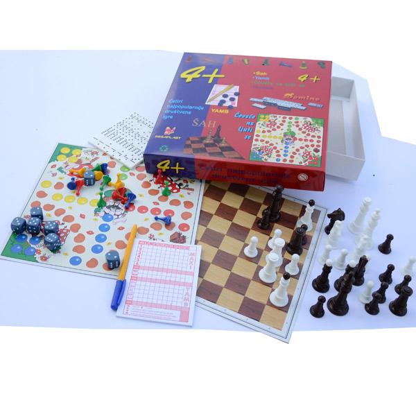 Igra 4+ Megaplast 3950223 - ODDO igračke
