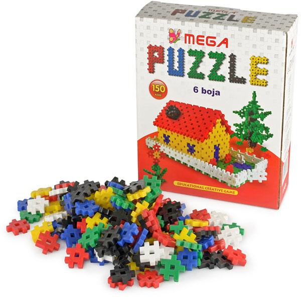 Megaplast Puzzle 150 pcs 3950650 - ODDO igračke