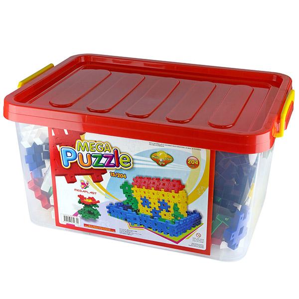Megaplast Puzzle 204 pcs 3950724 - ODDO igračke