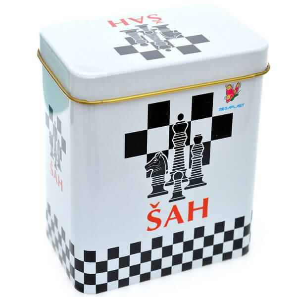 Šah limenka Megaplast 3950391 - ODDO igračke