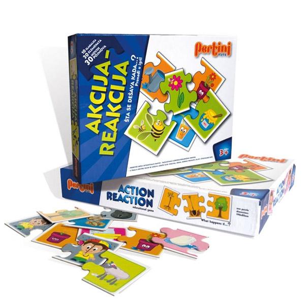 Pertini igra Akcija Reakcija P-0207 7354 - ODDO igračke