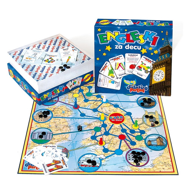 Engleski za decu P-0160 - ODDO igračke