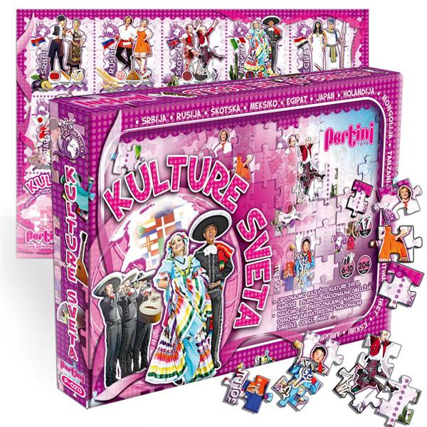 Edukativni set Kulture sveta Pertini P-0213 - ODDO igračke