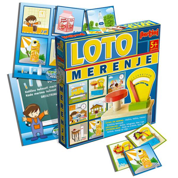 Loto Pertini Merenje P-0210D - ODDO igračke