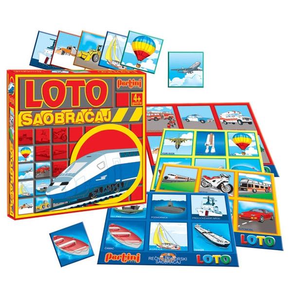 Loto Pertini Saobraćaj P-0210A - ODDO igračke