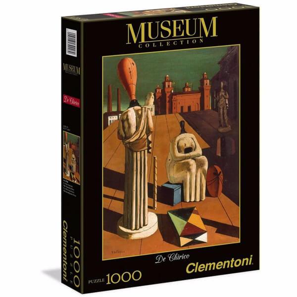 Clementoni Puzzla The Disquieting Muses, De Chirico 1000 pcs 39246 - ODDO igračke