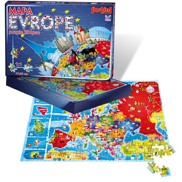 Edukativni set Mapa Evrope Pertini P-0147 - ODDO igračke