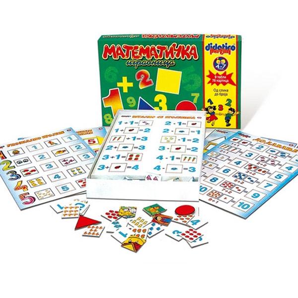 Edukativna Matematicka igraonica Pertini P-0154 - ODDO igračke