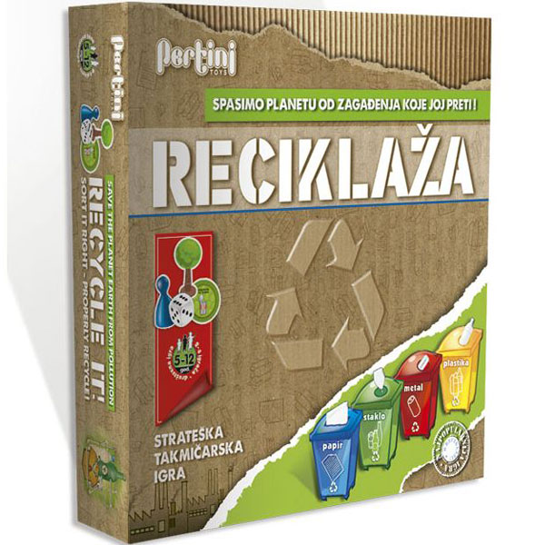 Reciklaža igra Pertini P-0209 - ODDO igračke