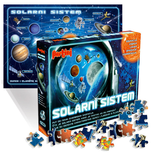 Solarni sistem Pertini P-0212 - ODDO igračke