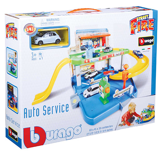 Burago City Garaža Set sa Autićima BU30039                                                                                                                        - ODDO igračke