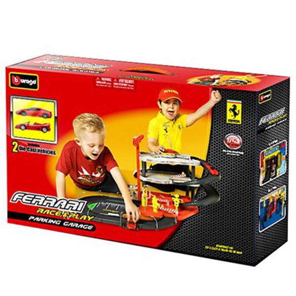 Burago Ferari Garaža 1:43 BU31204                                                             - ODDO igračke