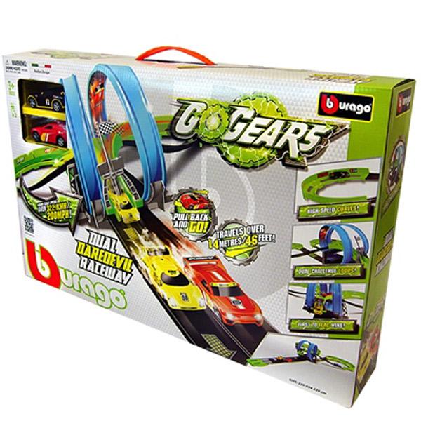 Burago Go Gear 1:55 Dual Daredevil Raceway  BU30262                                            - ODDO igračke