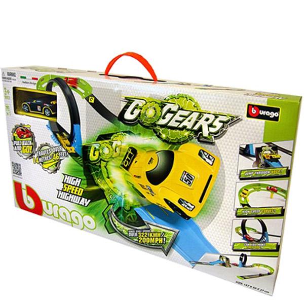 Burago Go Gear 1:55 High Speed Autoput BU30263                                             - ODDO igračke