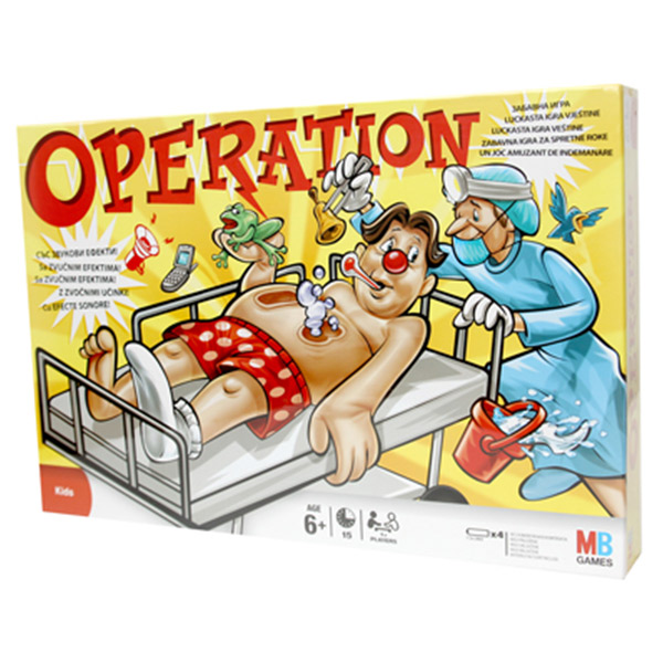 Društvena Igra Operacija 40198                                             | ODDO igračke