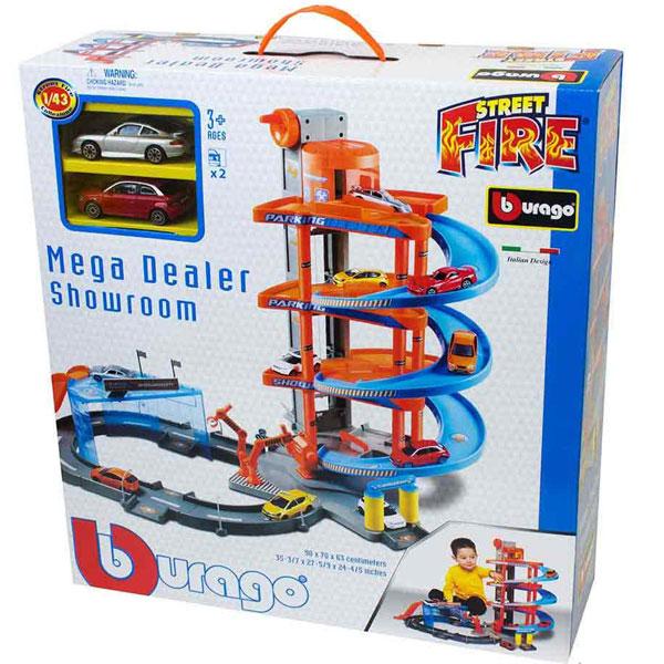 Burago Garaža Mega Deadler 1:43 Showroom BU30031 - ODDO igračke