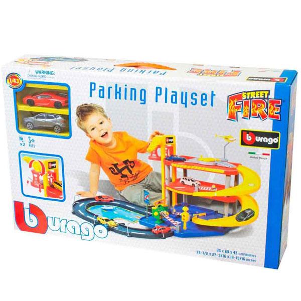 Burago City Garaža sa 2 Autića BU30025 - ODDO igračke
